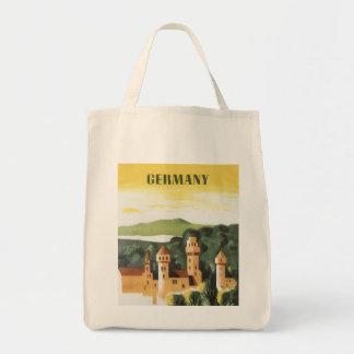 Tote Bag Voyage vintage, château allemand, Bavière