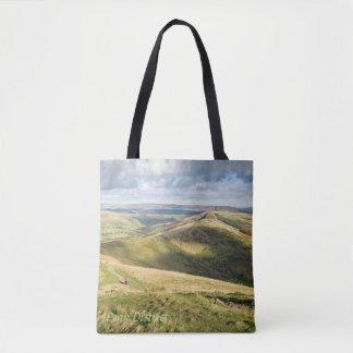 Tote Bag Vue de massif de roche de maman dans la photo