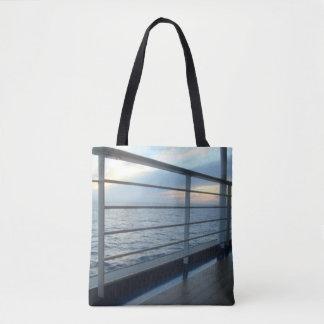 Tote Bag Vue de niveau de plate-forme