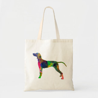 Tote Bag Weimaraner in watercolor