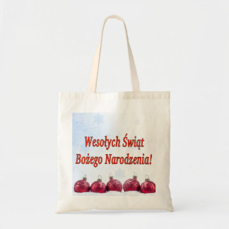 Tote Bag Wesołych Świąt… ! Joyeux Noël dans le polonais rf
