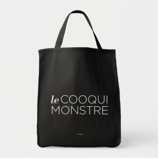 Tote Bag White le Cooqui Monstre