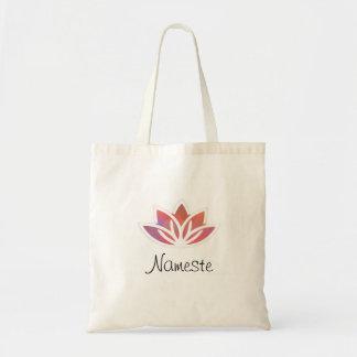 Tote Bag Yoga Fourre-tout de Namaste Lotus