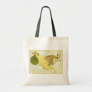 Tote Bag Zodiaque vintage, constellation de Capricorne