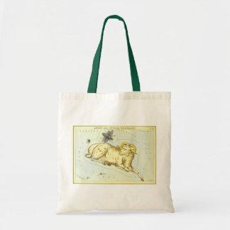 Tote Bag Zodiaque vintage, constellation de RAM de Bélier