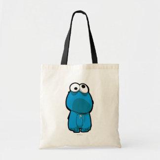 Tote Bag Zombi de monstre de biscuit