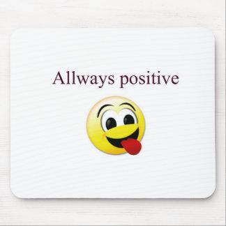 Toujours positif tapis de souris