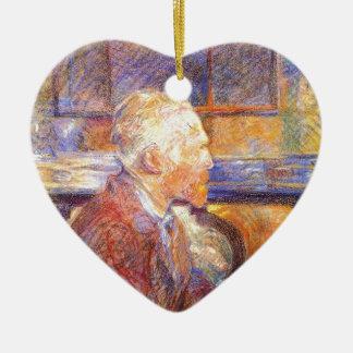 Toulouse-Lautrec - Van Gogh Ornement Cœur En Céramique