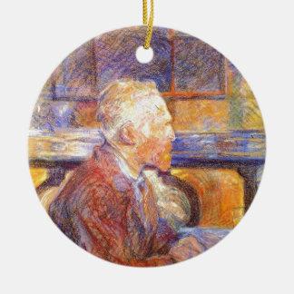 Toulouse-Lautrec - Van Gogh Ornement Rond En Céramique