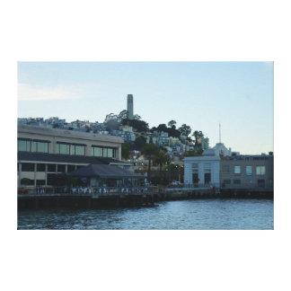 Tour de Coit, toile de San Francisco #3