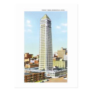 Tour de Foshay, Minneapolis, Minnesota Carte Postale