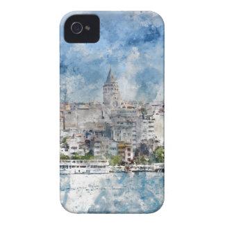 Tour de Galata à Istanbul Turquie Étuis iPhone 4
