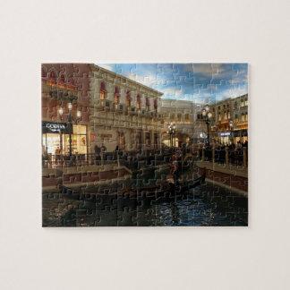 Tour de gondole à la casse-tête vénitienne puzzle