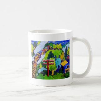 Tour de train mug