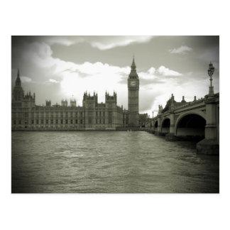 Tour d'Elizabeth - carte postale de Big Ben