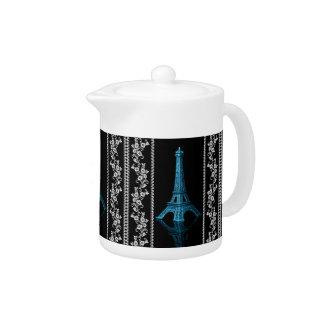 Tour Eiffel artistique avec les frontières