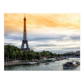 Tour Eiffel Carte Postale