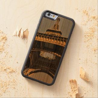 Tour Eiffel en couleur Coque Pare-chocs En Cerisier iPhone 6