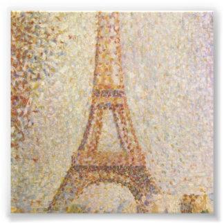 Tour Eiffel par Georges Seurat Photos D'art