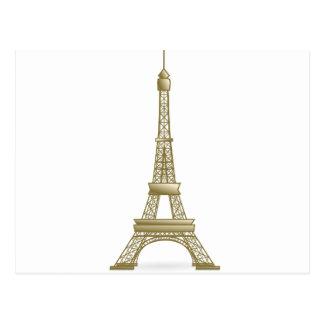 Tour Eiffel Paris Carte Postale