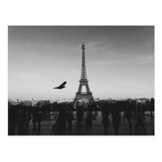 Paris romantique cartes postales originales - Photo romantique noir et blanc ...