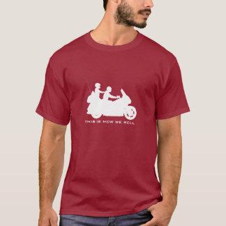 Tourisme du T-shirt de moto