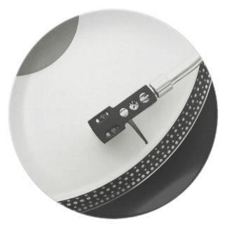 Tourne-disque d'aiguille de plaque tournante assiette