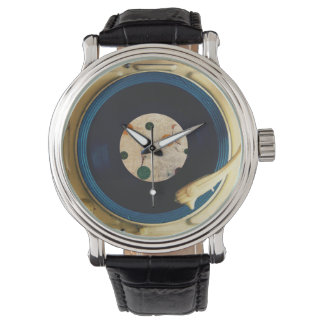 Tourne-disque vintage montres cadran