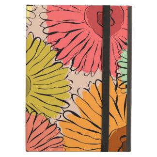 Tournesol coloré d'abrégé sur cru protection iPad air