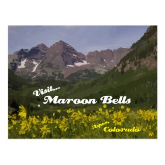 Tournesols marron de Bells - carte postale