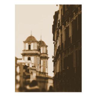 Tours jumelles - Madrid, Espagne - carte postale