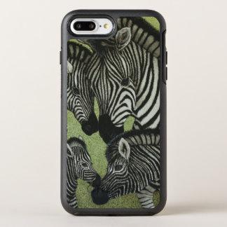 Tous en noir et blanc coque otterbox symmetry pour iPhone 7 plus