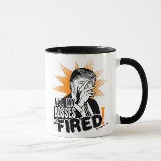 Tous mes patrons soient mis le feu ! Tasse de café