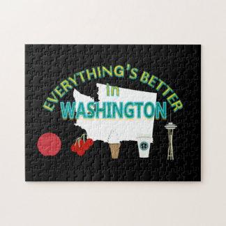 Tout est meilleur dans le puzzle de Washington