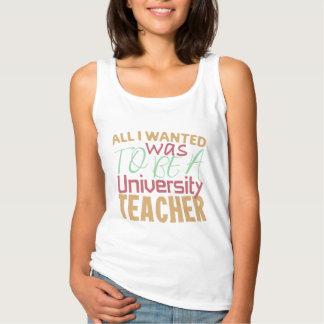 Tout I Wanted était d'être un professeur Débardeur