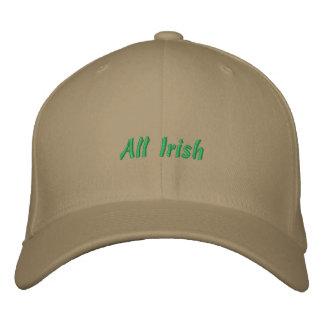 Tout le casquette irlandais de boule