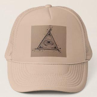 Tout le casquette voyant de camionneur d'oeil