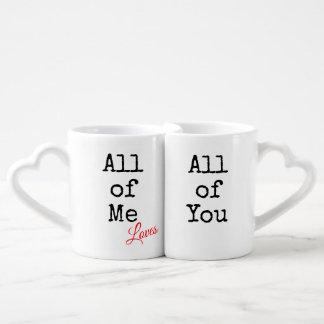 Tout le moi amours tous de vous ensemble de tasse