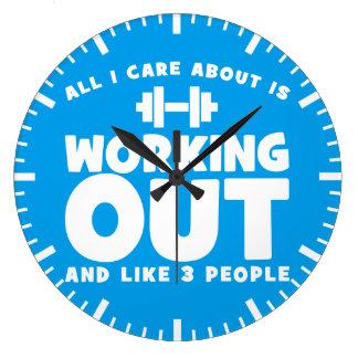 Tout soin d'I environ établit - forme physique de Grande Horloge Ronde