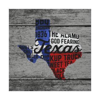 Toute la copie de toile du Texas de choses