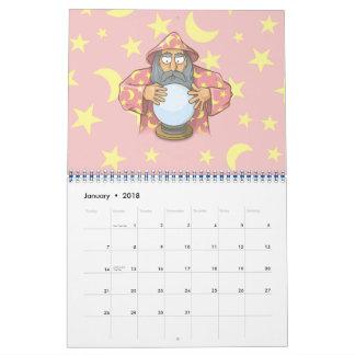 Tovenaar met Bal Kalender