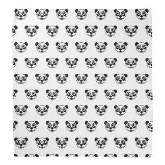 TP de visage de panda Bandanas