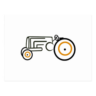 Tracteur Carte Postale