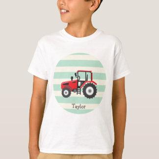 Tracteur rouge de ferme t-shirt