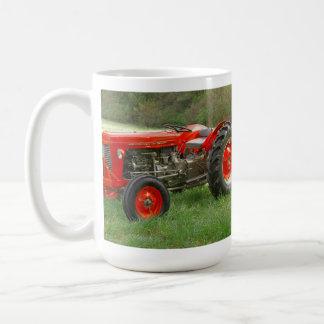 Tracteur rouge mug