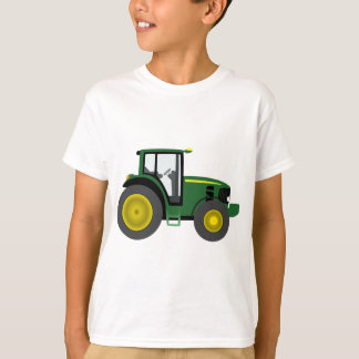 Tracteur vert t-shirt