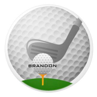 Traction en céramique jouante au golf ou bouton de