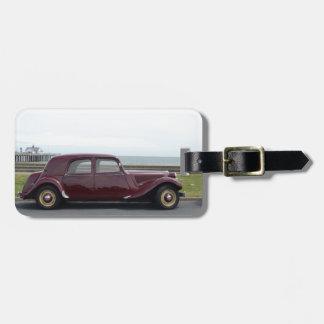 Traction vintage Avant de Citroen Étiquettes Bagages