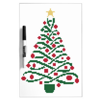 Traditionele Kerstboom Whiteboards