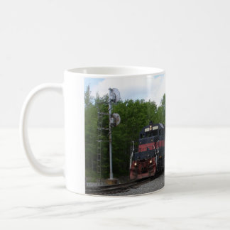 Train au signal mug
